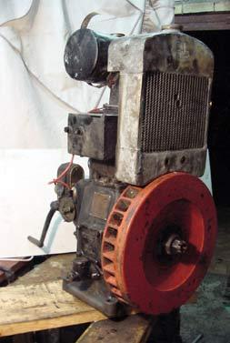 Motores estacionarios antiguos